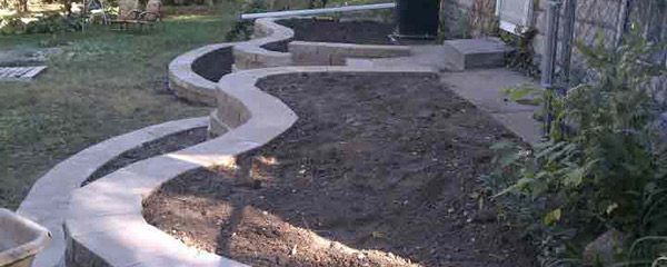 Heartland Gardens of Omaha Retaining Walls and Hardscapes